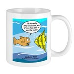 Fish Brain Food Mug