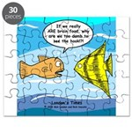 Fish Brain Food Puzzle