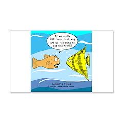 Fish Brain Food Wall Decal
