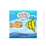 Fish Brain Food Postcards (Package of 8)
