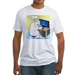 Elephant Memory Fitted T-Shirt
