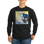 Elephant Memory Long Sleeve Dark T-Shirt