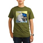 Elephant Memory Organic Men's T-Shirt (dark)