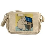 Elephant Memory Messenger Bag