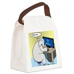 Elephant Memory Canvas Lunch Bag