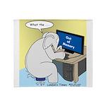 Elephant Memory Throw Blanket