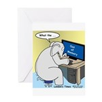 Elephant Memory Greeting Card