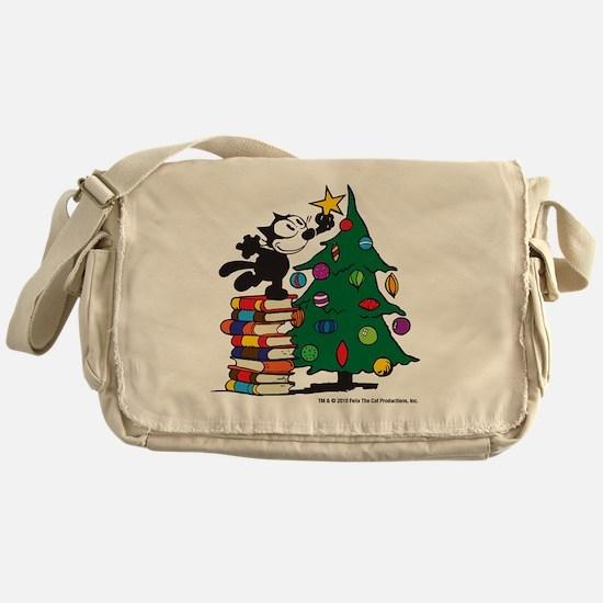 FELIX TOPPING THE TREE copy Messenger Bag