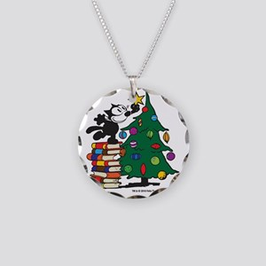 FELIX TOPPING THE TREE copy Necklace Circle Charm
