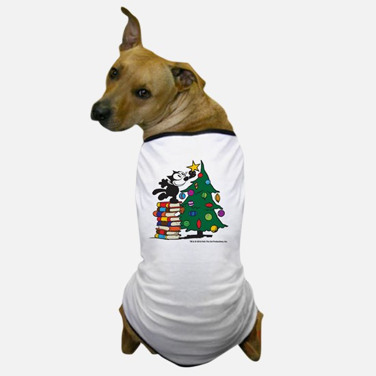 FELIX TOPPING THE TREE copy Dog T-Shirt