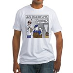 Duck at the Eye Doctor Fitted T-Shirt