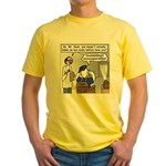 Duck at the Eye Doctor Yellow T-Shirt