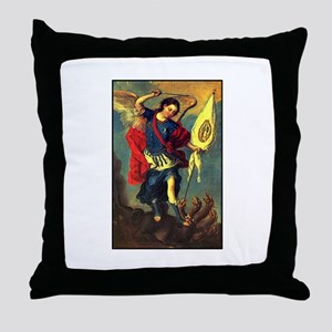 San Miguel - Guadalupe Throw Pillow