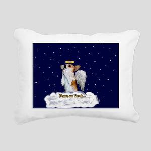 Peace Angel Dott Rectangular Canvas Pillow