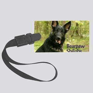 00 cover-bearpaw Large Luggage Tag