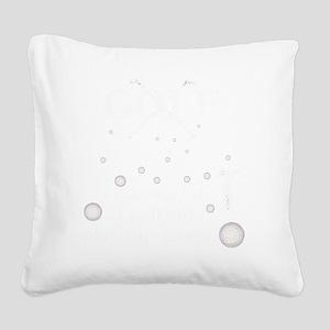 golftrans Square Canvas Pillow