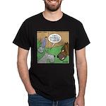 Dog and Vacuum Dark T-Shirt