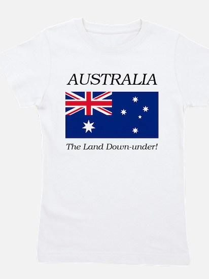 Australian Flag Girl's Tee