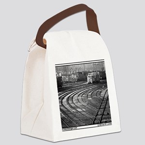 RR--Switching Tracks-1977- Ottumw Canvas Lunch Bag