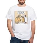 Dog Water Supply White T-Shirt