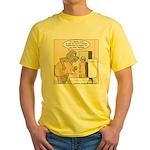 Dog Water Supply Yellow T-Shirt