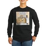 Dog Water Supply Long Sleeve Dark T-Shirt