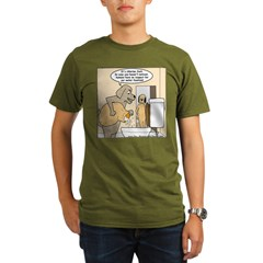 Dog Water Supply Organic Men's T-Shirt (dark)