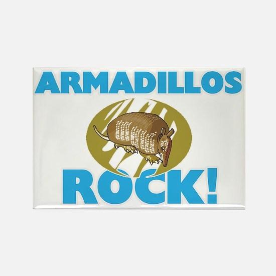 Armadillos rock! Magnets