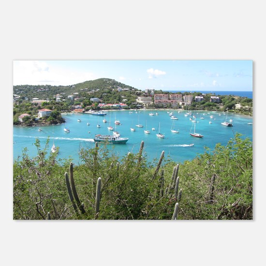 St. John in the US Virgin Postcards (Package of 8)