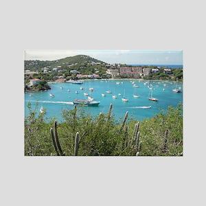 St. John in the US Virgin Island Rectangle Magnet