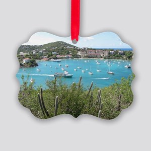 St. John in the US Virgin Island Picture Ornament