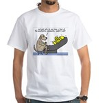 Dog Shrink White T-Shirt