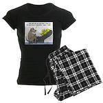 Dog Shrink Women's Dark Pajamas