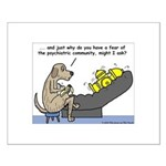 Dog Shrink Small Poster