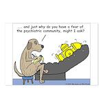 Dog Shrink Postcards (Package of 8)