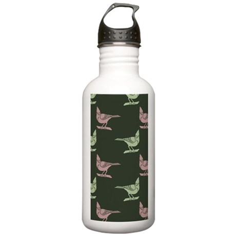Colorful Cardinals Stainless Water Bottle 1.0L
