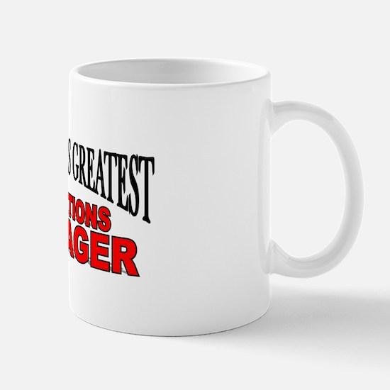 """The World's Greatest Operations Manager"" Mug"