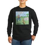 Dog Owners Long Sleeve Dark T-Shirt