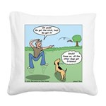 Dog Owners Square Canvas Pillow