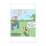 Dog Owners Mini Poster Print