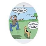 Dog Owners Ornament (Oval)