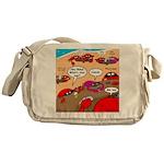 Crab Pickup Lines Messenger Bag