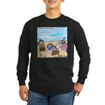 Cuddle Fish Long Sleeve Dark T-Shirt