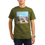 Cuddle Fish Organic Men's T-Shirt (dark)