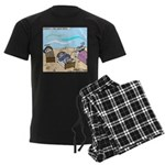 Cuddle Fish Men's Dark Pajamas