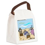 Cuddle Fish Canvas Lunch Bag