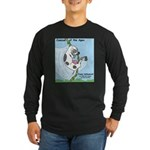 Cowzan of the Apes Long Sleeve Dark T-Shirt
