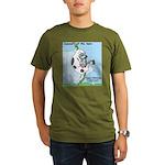 Cowzan of the Apes Organic Men's T-Shirt (dark)
