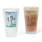 Cowzan of the Apes Drinking Glass