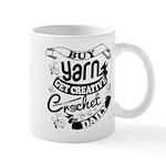 Crochet Mantra Mugs